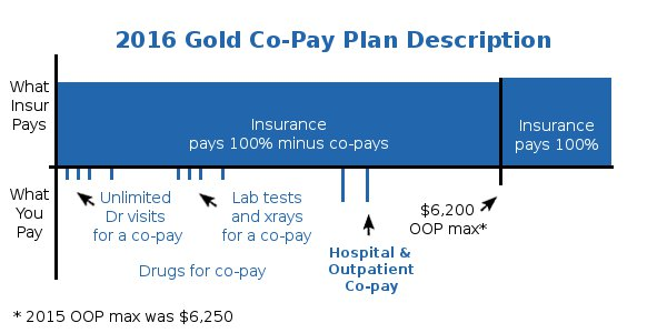 Health Care Reform Gold Health Plan Details Description - Co-Payment Version