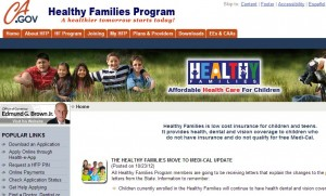 To get affordable child health insurance California parents need to apply
