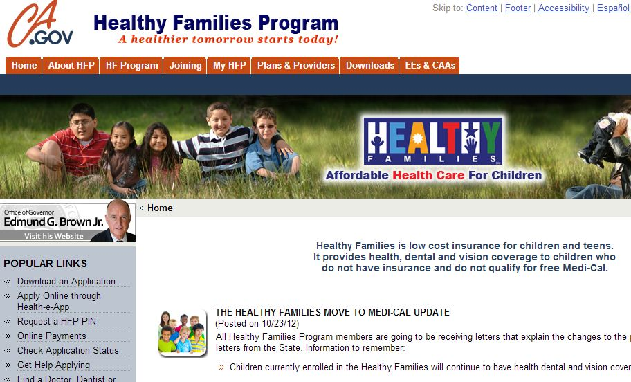 Low insurance adult income health